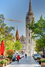 Budapest Castle District, HDR Image