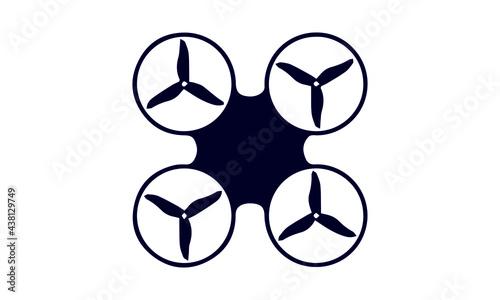 Fotografie, Obraz Drone Products Icon Set vector design