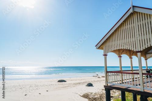 Canvastavla Wide shot of Kirra hut on the Gold Coast, Queensland