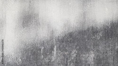 Fotografija Concrete walls outside the building where black mold occurs.
