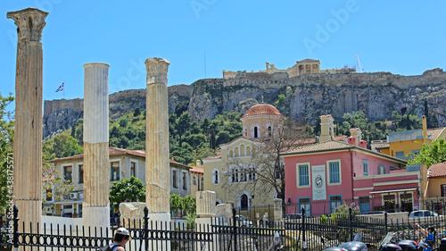 Valokuva Archaeological Ruins Athens Greece