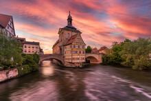 Bamberg  Brückenrathaus, Deutschland |Old Town Hall