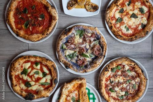 Fotografia, Obraz le pizze italiane