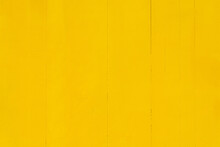Wooden Background Painted In Bright Yellow Color