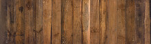 Old Barn Wood Background Texture. Vintage Weathered Rough Planks Wide Wall Backdrop.