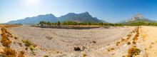 Dry Riverbed Of Candir Stream Near Antalya, Turkey