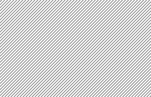 Black Diagonal Thin Lines Seamless Pattern On White Background Vector