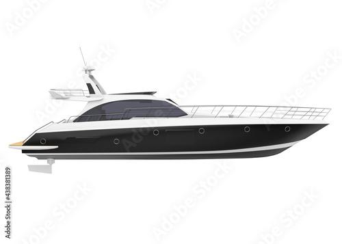Fotografie, Obraz Pleasure Yacht Isolated