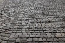 Cobblestone Street, Nuremberg Stone Pavement