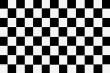 White And Black Checkered Ceramic Tiles Pattern And Background Seamless