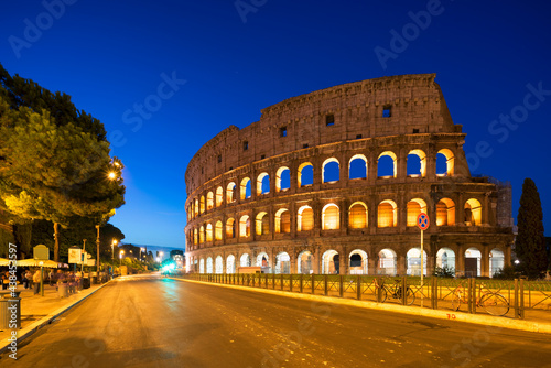 Colosseum in Rome at night #438453597