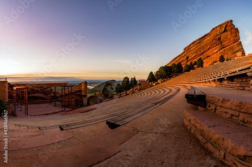 Fotografiet Red Rocks Amphitheater Colorado