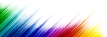 Colorful Abstract Background With Stripes In The Different Gradient Of The Color Spectrum