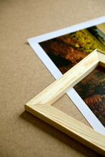 Photo Canvas Print And Wooden Stretcher Bar