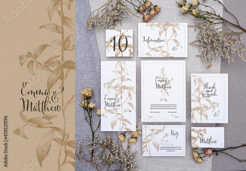 Wedding Stationary - Botanic