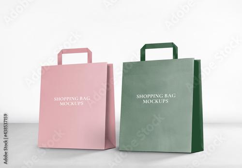 Editable Shopping Bag Mockup