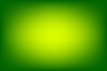 Abstract Green And Yellow Blurred Background, Smooth Gradient Texture Color, Shiny Bright Website Pattern, Banner Header Or Sidebar Graphic Art Image Vector Illustration