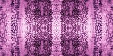 Seamless Animal Print. Violet Cloth Textile