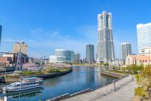 Yokohama Minato Mirai 21 In Yokohama, Japan.