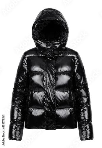 Canvastavla black demi-season jacket