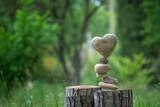 Fototapeta Kamienie - Heart balance