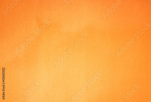 Abstract paper orange color texture background