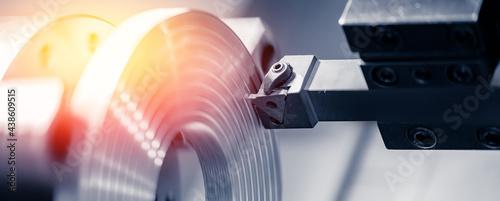 Fotografiet Metal machine tools industry