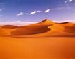 Leinwandbild Motiv africa, sahara, sand dunes, north africa, desert, dunes, dune, sand, nature, heat, drought, aridity, dunescape, landscape, solitude, barrenness, wasteland, structure,