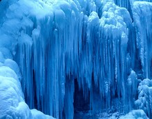 Waterfall, Iced, Water, Frozen, Cold, Nature, Blue, Structure, Icing, Icicles, Ice, Winter, Season,