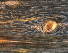 Wooden Board, Detail, Branch, Close-up, Wood, Board, Wooden Wall, Cut Surface, Structure, Background, Brown, Grain, Knothole,