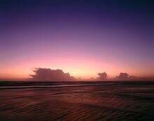 Sea, Evening, Evening Glow, Evening Light, Dusk, Twilight, Romantic, Romanticism, Calm, Nature, Water, Mood, Sunset, Landscape,