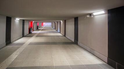 przejście podziemne tunel