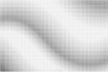 Abstract Halftone Optical Dotted Background. Modern Grunge Pattern With Dots, Circles