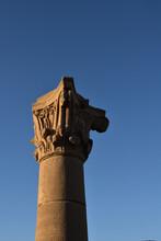 Colonne De Temple Egyptien, Gravure Et Art