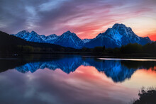 Oxbow Bend In The Grand Teton National Park, Wyoming