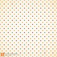 Vintage Polka Dot Seamless Pattern Vector Design