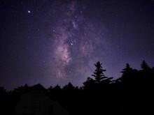 大台ケ原からの星空