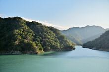 Shihmen Reservoir, Taoyuan, Taiwan: Beautiful Landscape Of Shimen Reservoir.