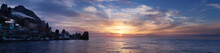 Winter Sunrise Over The Black Sea, Gurzuf, Crimea