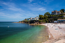 Brixham, Devon, England - Summer Seaside Landscape. Sunny Day.