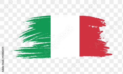 Foto Italy Flag, National flag of Italy, Italy flag in standard proportion color mode RGB