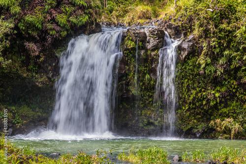 Photo Puaa Kaa Falls On The Road to Hana, Maui, Hawaii, USA