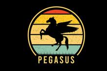 Pegasus Color Yellow And Green