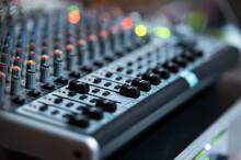 Sound Engineer Console