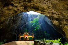 Phraya Nakhon Cave Is Located In The Khao Sam Roi Yot National Park In Prachuap Khiri Khan