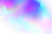 Blurred Gradient Light Refraction Overlay Effect . Abstract Neon Image
