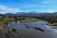 View Of River Tarcoles From Crocodile Bridge-2