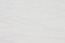White Snow Surface, Natural Snow Background For Record Or Banner.