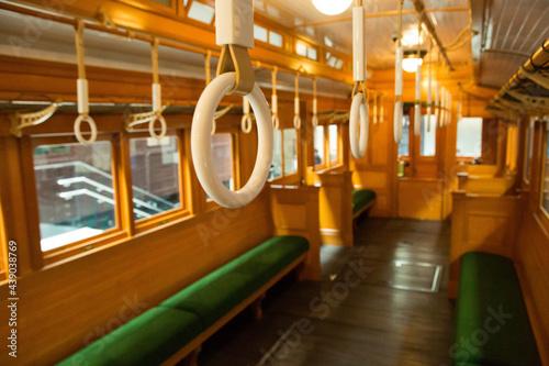 Obraz na plátně 電車内