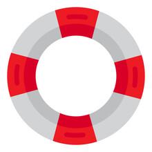 Lifeguard Flat Style Icon